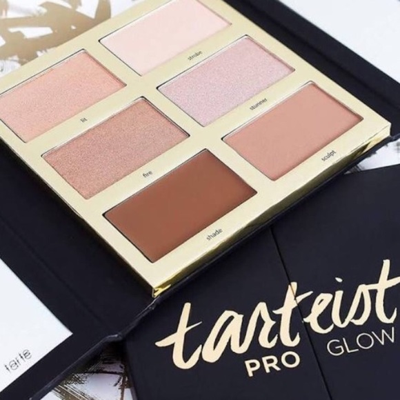 Tarte Pro Glow Highlighter And Contour Palette Nwt